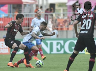 Bahia desperdiça chances de gol e fica no 0 a 0 com o Atlético-PR