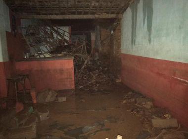 Sítio do Quinto: Chuva provoca estragos em distrito e prefeito apela por ajuda